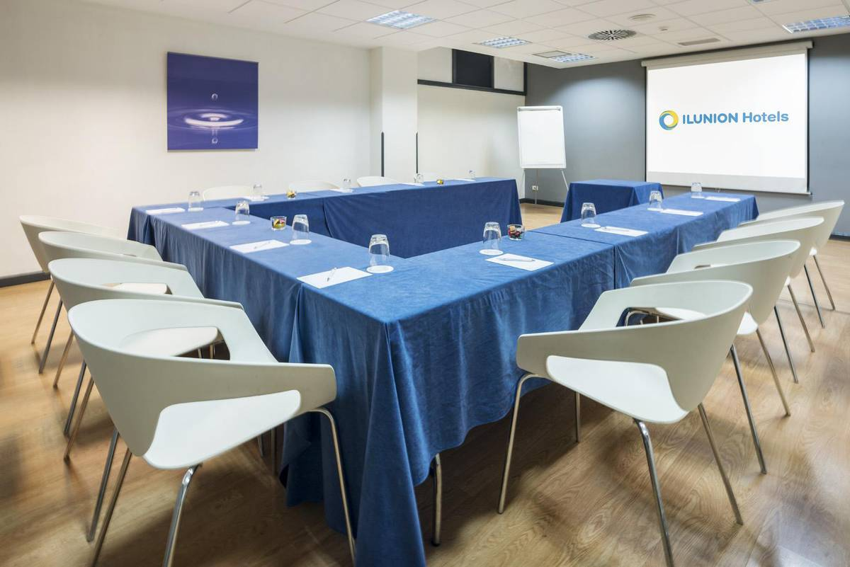 Meetings rooms ilunion romareda hotel ilunion romareda zaragoza